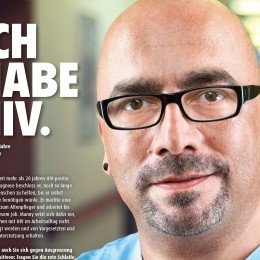 """Neue Kampagne zum Welt-Aids-Tag mit Schwerpunkt """"HIV in der Arbeitswelt"""""""