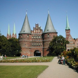 Holstentor Lübeck. Quelle: Jonges / Wikimedia Commons