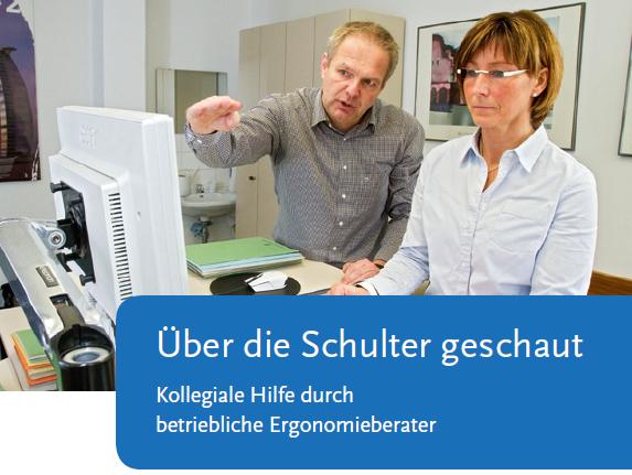 Bildschirmarbeit: Broschüre zu betrieblichen Ergonomieberatern