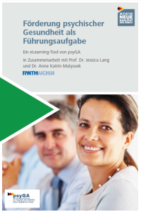 Psychische Gesundheit fördern: eLearning-Tool für Führungskräfte