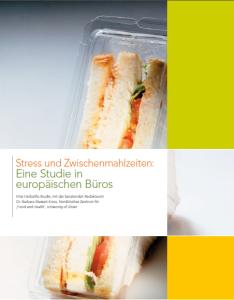 Stress und Zwischenmahlzeiten: Eine Studie in europäischen Büros