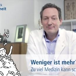 Eckart von Hirschhausen: Auch beim Arzt ist weniger oft mehr