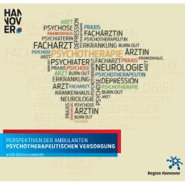 Hannover: Gesundheitsbericht 2013 zur psychotherapeutischen Versorgung