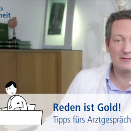 Eckart von Hirschhausen: Reden ist Gold – vor allem beim Arzt!