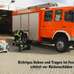Rückengerechtes Arbeiten - Video der HFUK Nord: Kreuz gesund! Statt Rücken rund