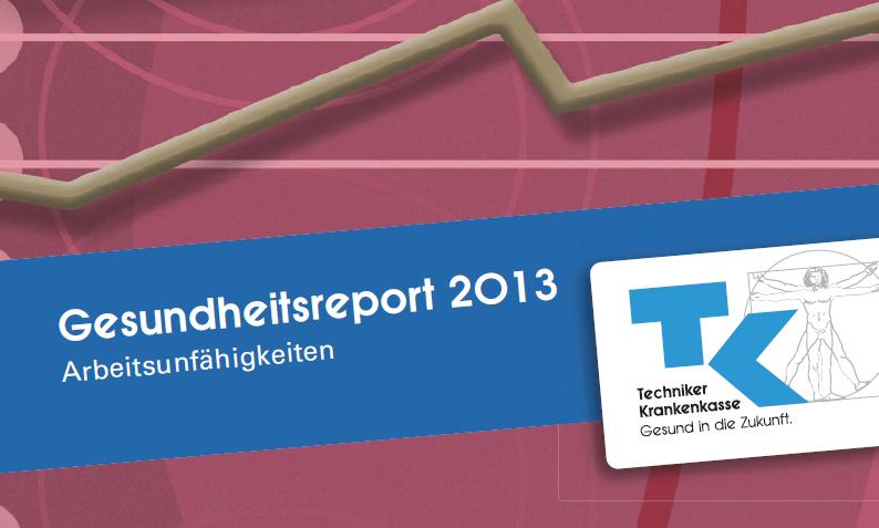 TK-Gesundheitsreport: Mehr Krankschreibungen im Norden als im Süden