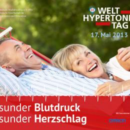 Informationsveranstaltung der Uni Heidelberg zum Welt-Hypertonie-Tag