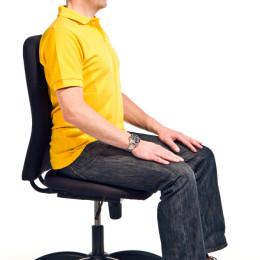 """Denk an mich. Dein Rücken"": Qual der guten Wahl beim Bürostuhl"