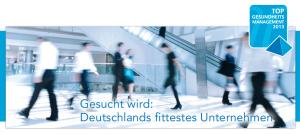 BGM‐Impulsveranstaltung der Initiative TOP Gesundheitsmanagement Hamburg