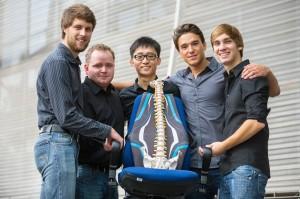 Das FH-Team PhysioTeC (Bild: © FH-Aachen)