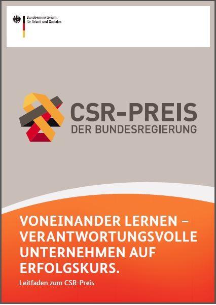csr preis 2013 bundesregierung prsentierte best practice beispiele - Csr Beispiele
