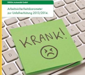 Cover DEKRA Arbeitsicherheitsbarometer 2013/14