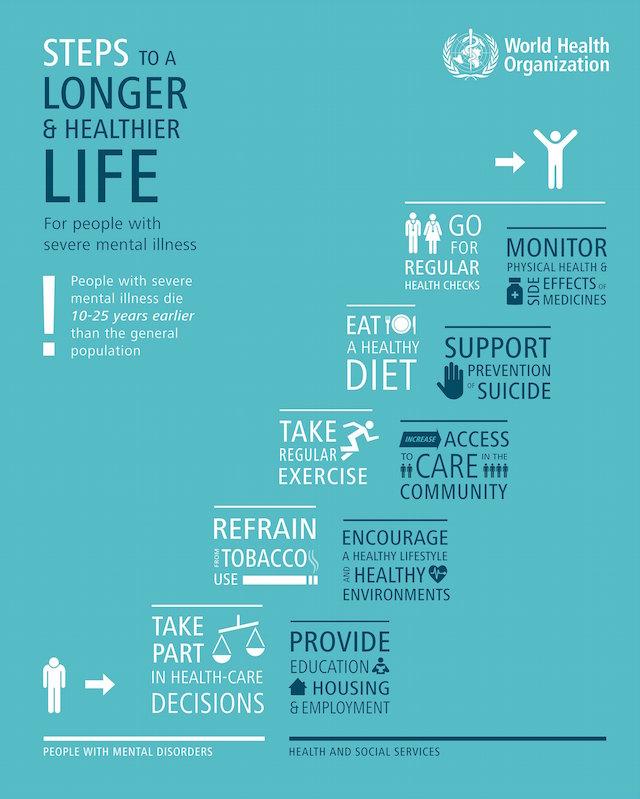 Die Top 5 für ein gesundes Leben