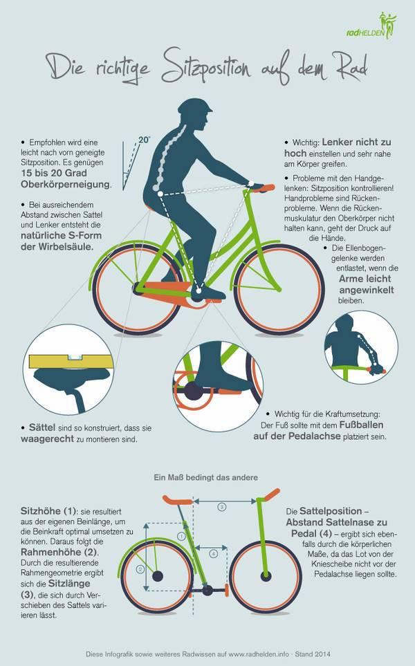 Radfahren, Fahrrad, Sitzen