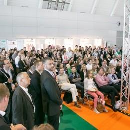 Fotos von der Corporate Health Convention (CHC) Messe Stuttgart  europäische Fachmesse für betriebliche Gesundheitsförderung und Demografie aufgenommen auch im Auftrag der spring Messe Management GmbH & Co KG