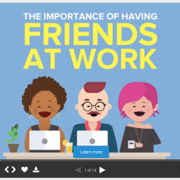 Freunde im Kollegenkreis