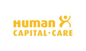 Gebaude mit Apple-Logo in der Abenddämmerung