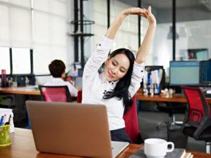 Work-Life-Balance, Leistungsfähigkeit, Mitarbeiter, Büro, Arbeitsplatz