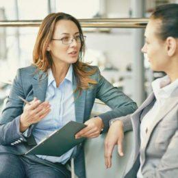 Arbeitssuchende, Zeitarbeitsfirmen, Gespräch, Vorstellungsgespräch