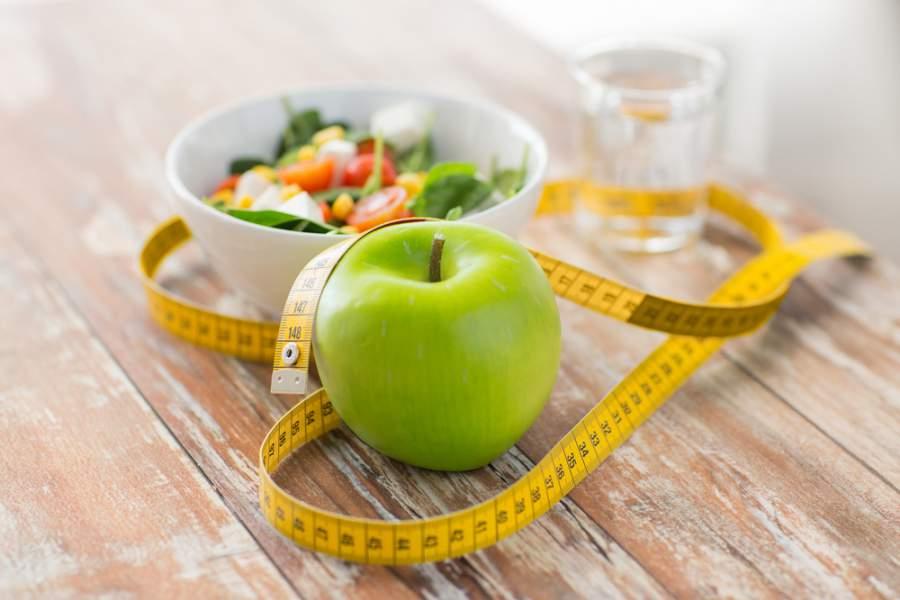 Ernährung, gesundes Essen, Obst, Übergewicht, Abnehmen