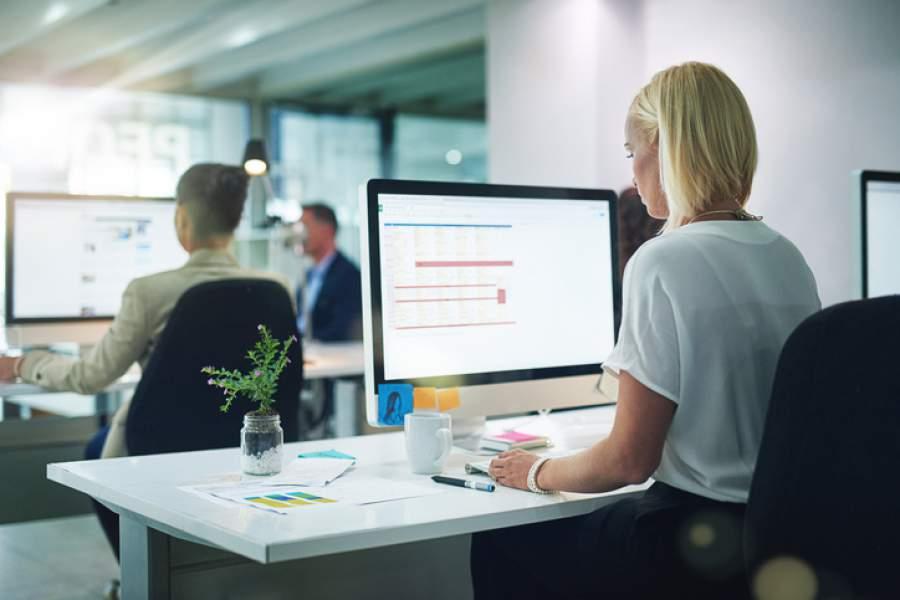 Arbeitssicherheit, Bildschirmarbeit, Arbeitsschutz, Büroarbeit, Büro, Arbeitsplatz