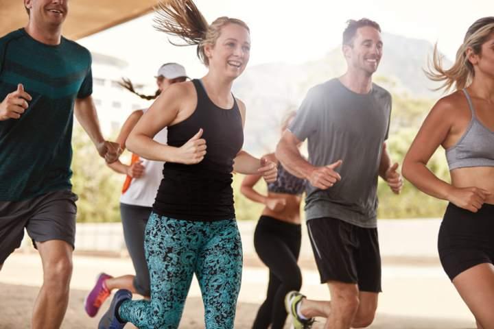 Fitness, Gesundheit, Bewegung, Arbeitsplatz, Gymnastik