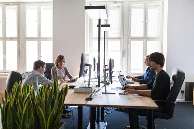 umweltfreundlichkeit, büro, arbeitsplatzgestaltung, papierloses büro, digitales büro