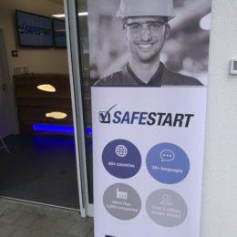 SafeStart Aufsteller, mehr als 60 Länder, über 30 Sprachen, mehr als 3000 Unternehmen, über 3 Millionen Anwender, weltweit angewandtes Sicherheitstraining, Mitarbeitersicherheit, Breakfast Event Stuttgart, Arbeitssicherheit erhöhen