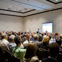 SafeStart Seminarraum, voller Hörsaal, SafeStart Schulung, Larry Wilson, SafeStart Germany