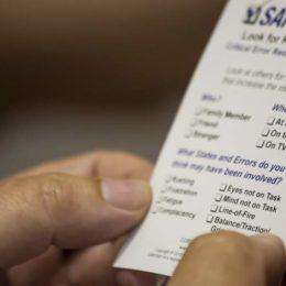 Rate Your State-Karte, Risikomuster erkennen, sicherheitsrelevante Beobachtungen, Arbeitssicherheit verbessern